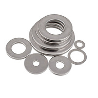 China factory supply DIN125 thin 1/4 flat metal washer
