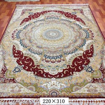 Carpet India Handwoven Wool Silk