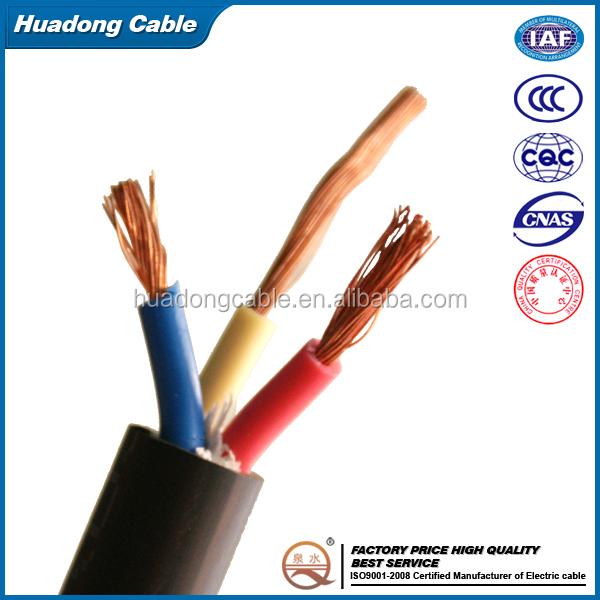 Top 3-adriges 1.5mm2 flexibles kabel 3-phasen pvc flexible stromkabel  WF97