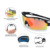 China Manufacturer Custom Fashionable Polarized Sport Sunglasses for Fishing/Cycling/Driving