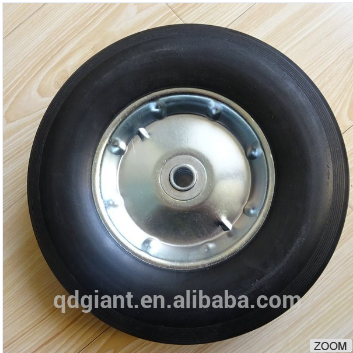 "Reliance high quality 10""x2.5"" solid rubber wheel for sale"