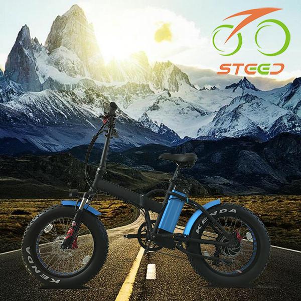 Mô hình mới fat tire có thể gập lại electro xe đạp đối với bãi biển