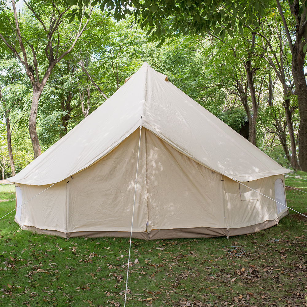 wholesale dealer 98313 13584 4m 5m 6m 7m Outdoor Safari Beige Camping Cotton Canvas Bell Tent - Buy  Safari Tent Luxury,Sibley Tent,Dome Tent Product on Alibaba.com