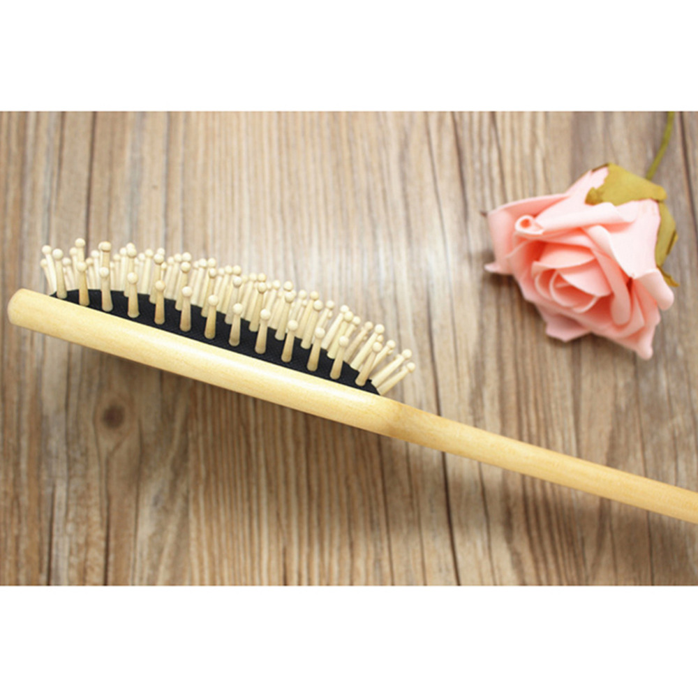 10 inch BIG Wooden Paddle Brush Wooden Hair Care Spa Massage Comb Antistatic Comb Drop Shipping