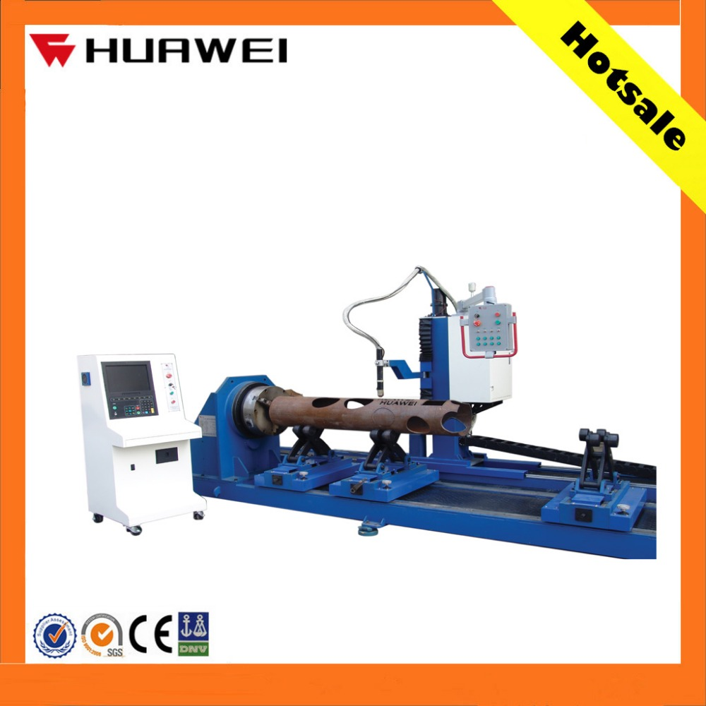 Stainless steel tube cnc plasma cutter/cutting machine