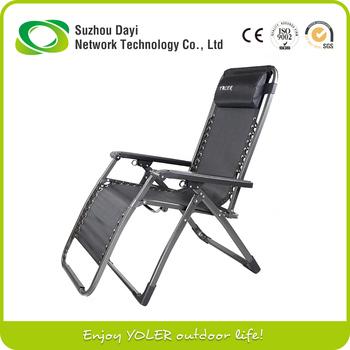 Yoler Lounge Camping Chair Outdoor Folding Zero Gravity Chair