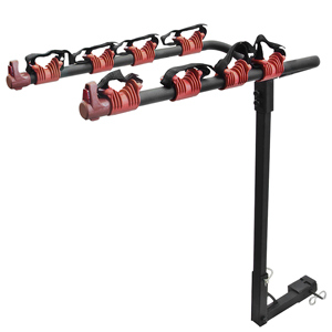 Platform Car Roof Hitch Bike Rack 4 Bikes