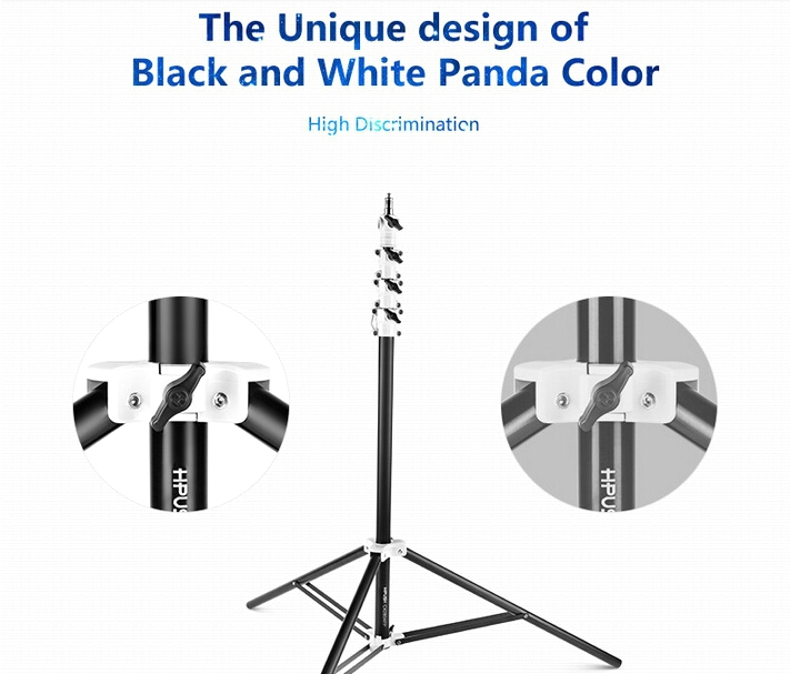 Photographic equipment HPUSN multi-function CX2804FP aluminum air-cushion heavy duty camera light stand