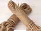 1mm-10mm Customization Eco-Friendly Braided Cord Baler Twine 100% Jute Rope