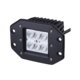 "18W 6 LED 1620LM SPOT BEAM LED WORK LIGHT 3"" OFFROAD FLUSH MOUNT BUMPER LAMP"