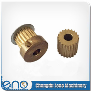 Brass material 16MXL025 Timing Pulley