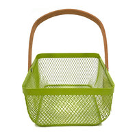 New products china home wire mesh Gift basket metal wire mesh basket