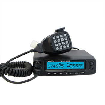 128CH UHF VHF Dual band Mobile Vehicle Radio BJ-UV55