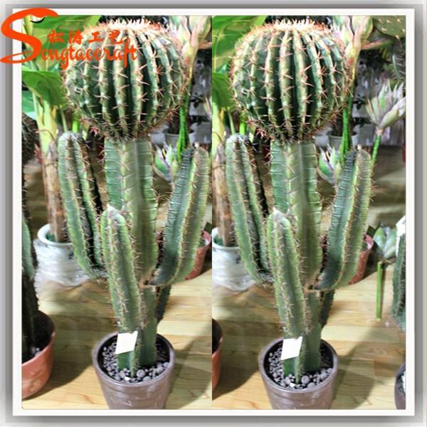 artificielle faux en plastique en c ramique ext rieure cactus cactus gonflable d coration cactus. Black Bedroom Furniture Sets. Home Design Ideas