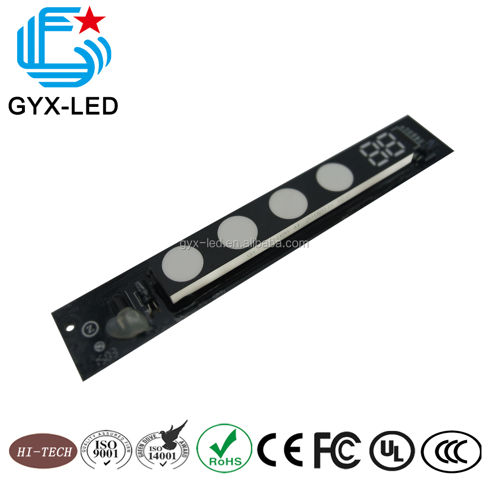 Low current operation SMD LED display air conditioner display