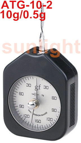 Analog Button Tension Indicator Switch Tension Meter N/G Unit Double Dial ATG-10-2