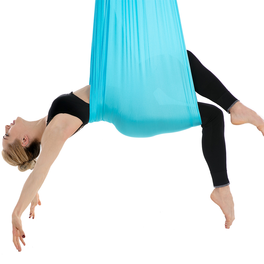 Top Yoga set Swing Flying Anti-Gravity yoga hammock swing Aerial Traction Device for home yoga swing