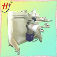 keg silk screen printing machine for single color with touch screen