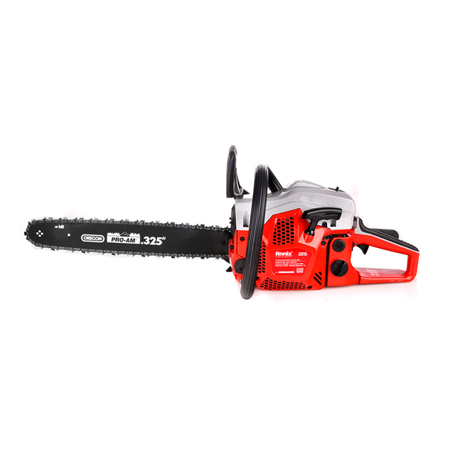 Ronix 45cc Gasoline Chain Saw Portable Wood Cutting Machine Model 4645Pro