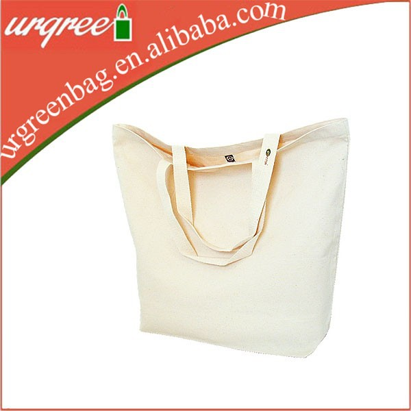 Pure White Two Tote Cotton Fabric Shoping Bag Extra Large