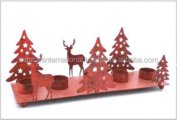 Christmas Tree Candle Holder.Metal Christmas Tree Reindeer Tea Light Candle Holder Red Tea Light Candle Holder Tea Light Candle Holders For Christmas Buy Reindeer Tealight
