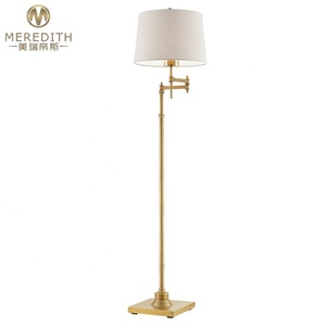 Meredith rocker arm floor lamp of modern classic home hotel #82004