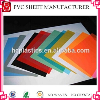 High Quality Super Clear Pvc Sheet Thin Color A4 Pvc Binding Cover ...