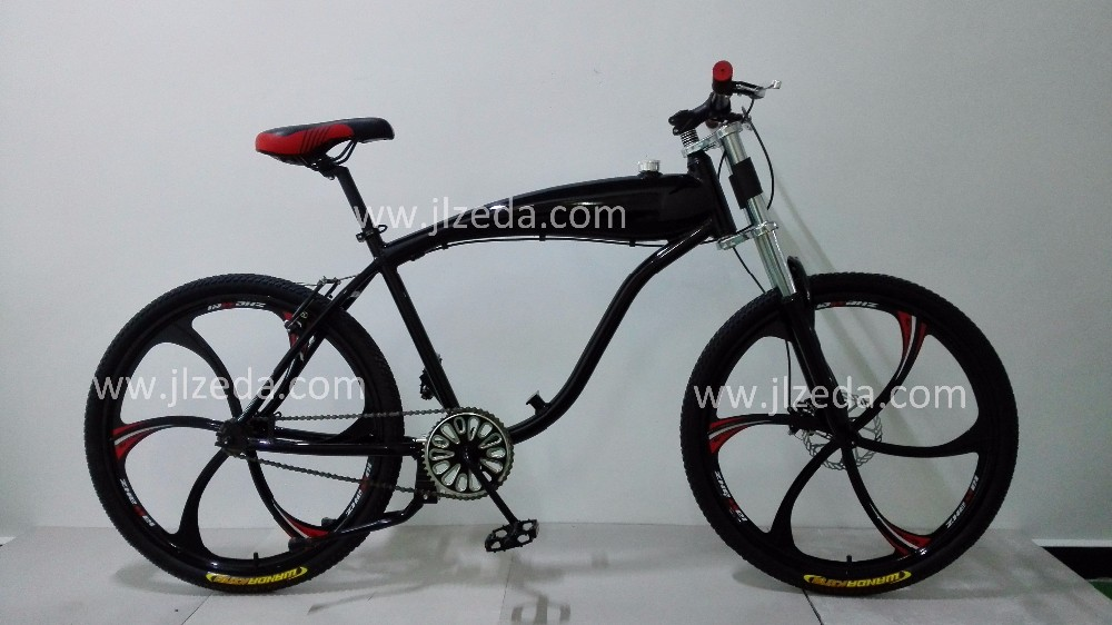 Good Quality Aluminum Bike Bicycle Frame With Built In Gas Tank For ...