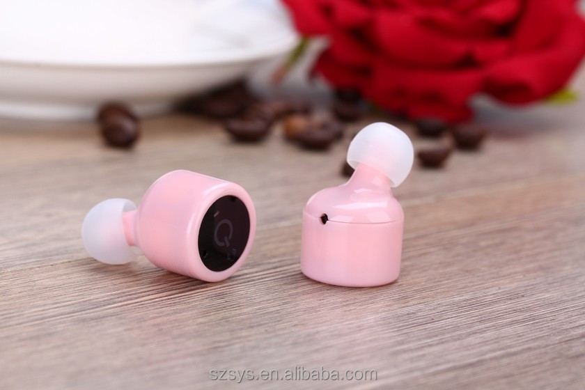 X1T USB Connectors bluetooth earphones True Wireless communication headphones V4.2 Stereo Twins double Earbud