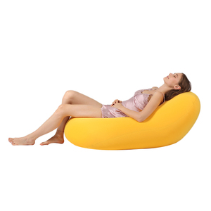 Luckysac wholesale custom lounge big elastic sofa bean bag
