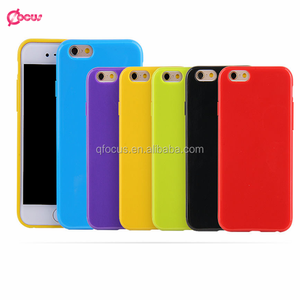 HOT Sale! 2016 Newest Fashion Cute Candy Colors TPU Phone Case Back Covers For iphone 6 /6s case,smartphone case