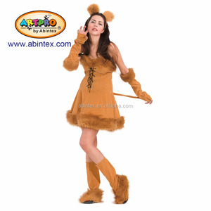 Halloween Costume 398.Lion Lady Costume 08 398 As Lady Costume With Artpro Brand