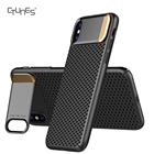 CTUNES Ultra Hybrid Slim Hard PC Metal Kickstand Honeycomb Heat Dissipation Shockproof Case Covers for Apple iPhone X 10