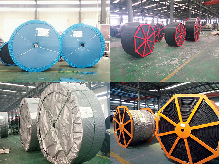 Rubber Conveyor Belt For Material Handling And Long Using Best Pricing  With Fabric of EP NN CC