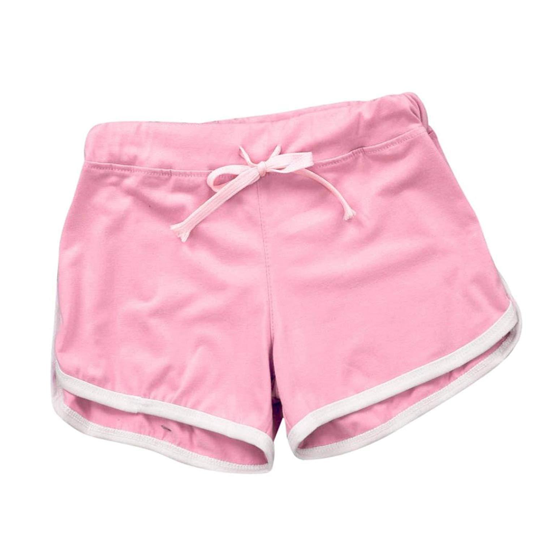 87da65da20 Get Quotations · Women Elastic Sport Gym Workout Shorts BCDshop Active Yoga  Lounge Summer Shorts Pants