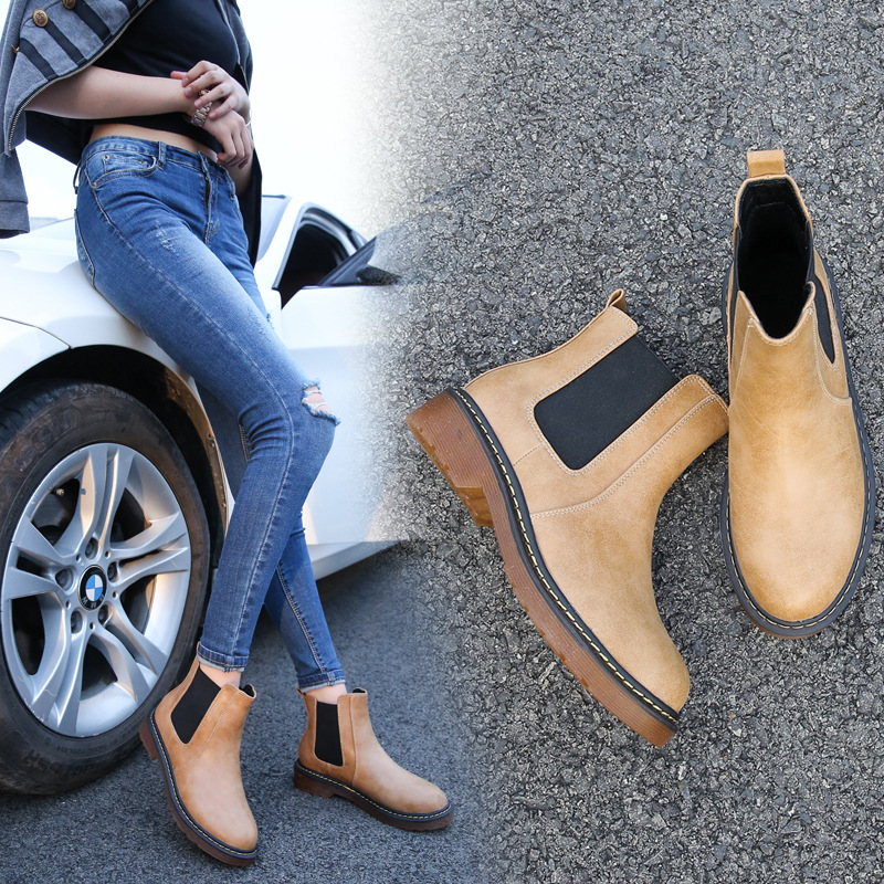 Fashion martin boots low cut ankle women shoes boot