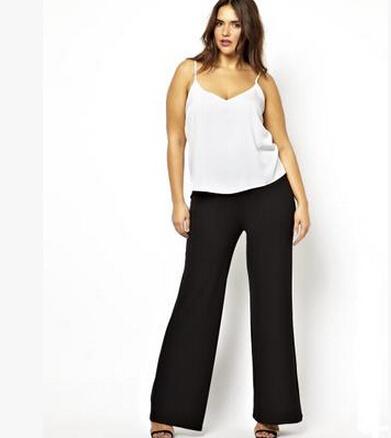 296d7146c0a Большой размер 6XL широкого покроя штаны большой размер 5XL женщины брюки  2016 большой размер женский костюм