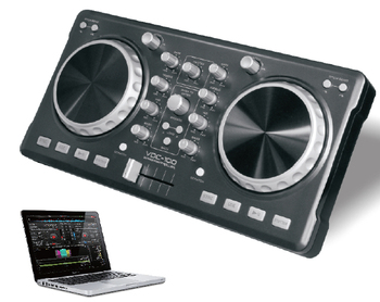Pro Studio USB Channel DJ Controller AUDIO MIXER dj mixer controller with USB cable and Virtual DJ Software