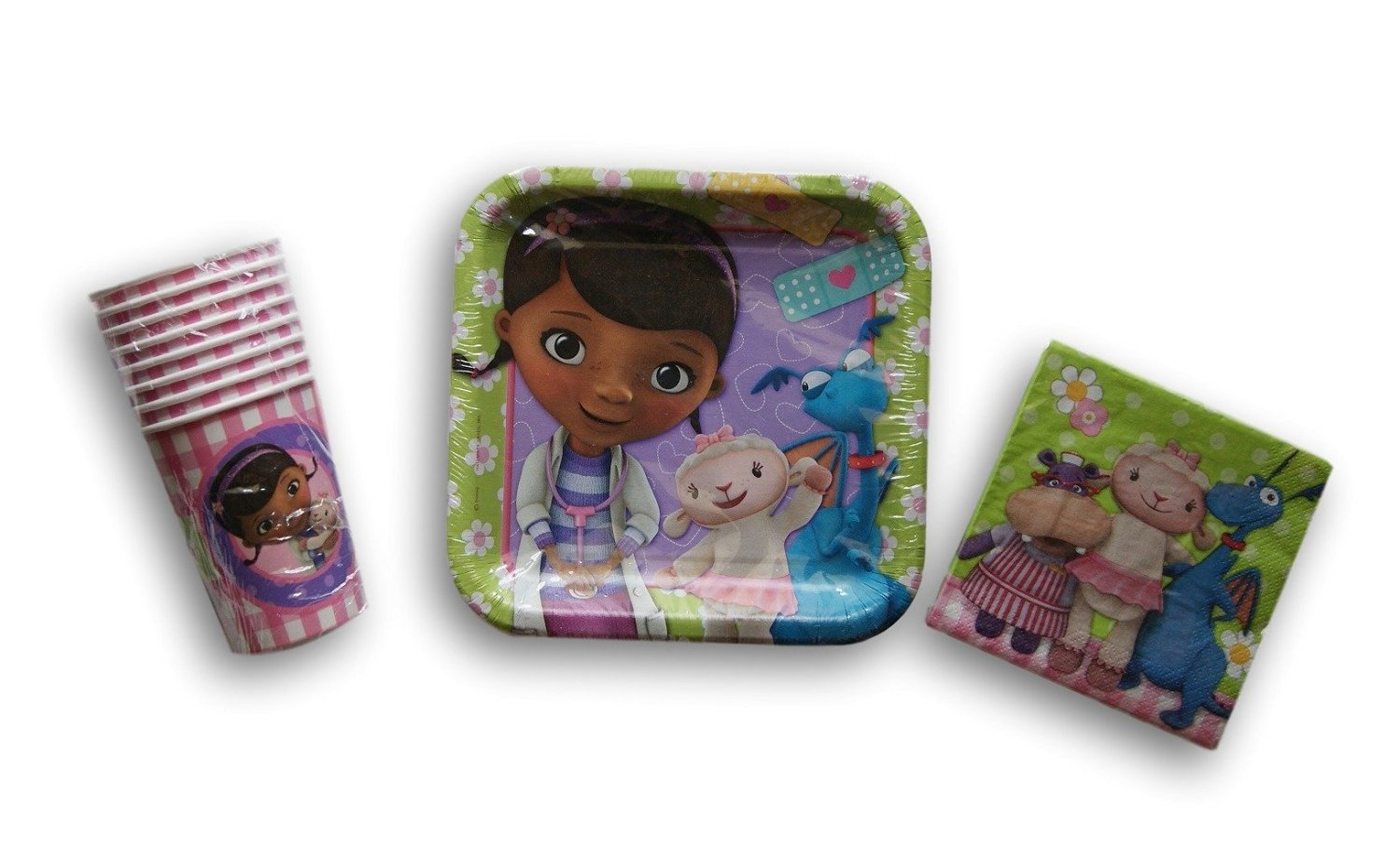 Get Quotations · Doc McStuffins Birthday Party Set - Dessert Plates Beverage Napkins Cups  sc 1 st  Alibaba & Cheap Party Doc Mcstuffins find Party Doc Mcstuffins deals on line ...