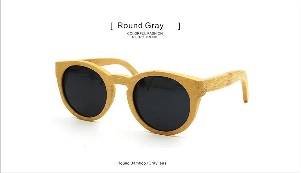 e60d17ac825 Fishing Natural Wood Sunglasses Cream Coloured Round Skateboard Wood ...