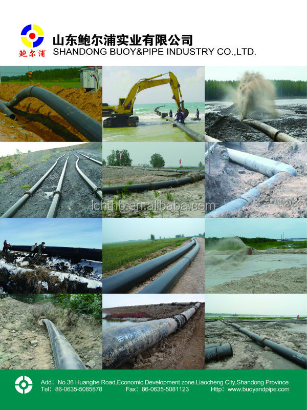 Corrosion And Abrasion Resistant Pipe- Uhmwpe Pipe