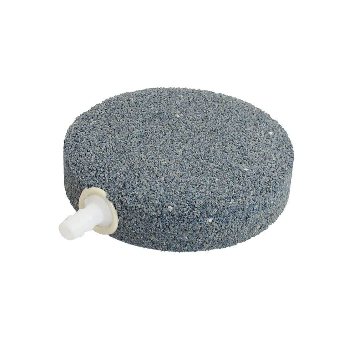 Uxcell Round Aquarium Mineral Sintered Air Stone/Airstone, 97mm
