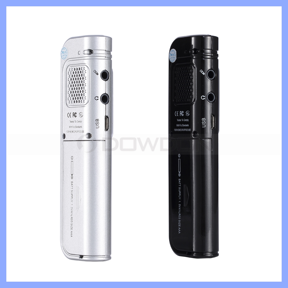 Mini Usb Pen Type Voice Recorder Built-in 8gb Flash Storage Audio ...