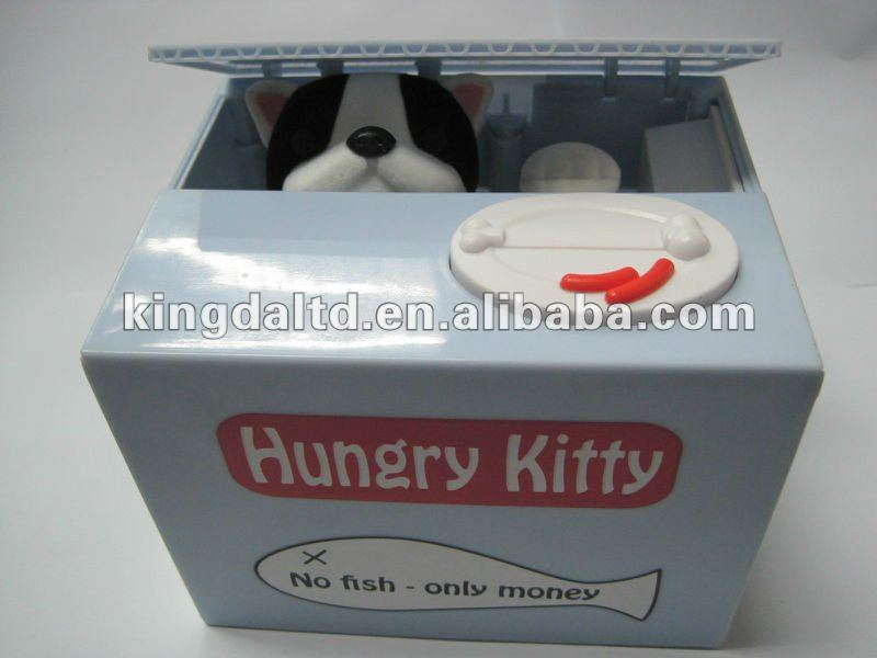 Eat Money Doggy Coin Bank Money Box