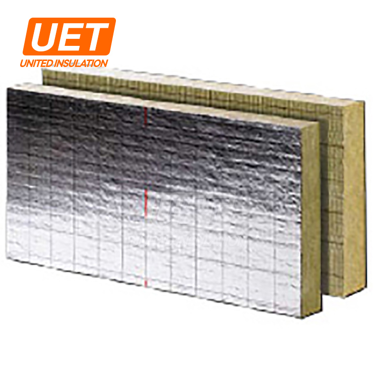 foil faced mineral wool blanket insulation heat insulation rock board building material