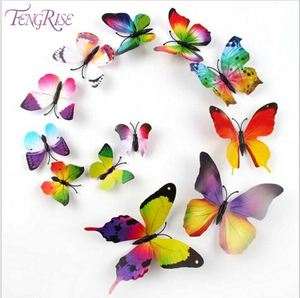 New Year 3D Decorative Sticker PVC Butterfly 3D Wall Sticker