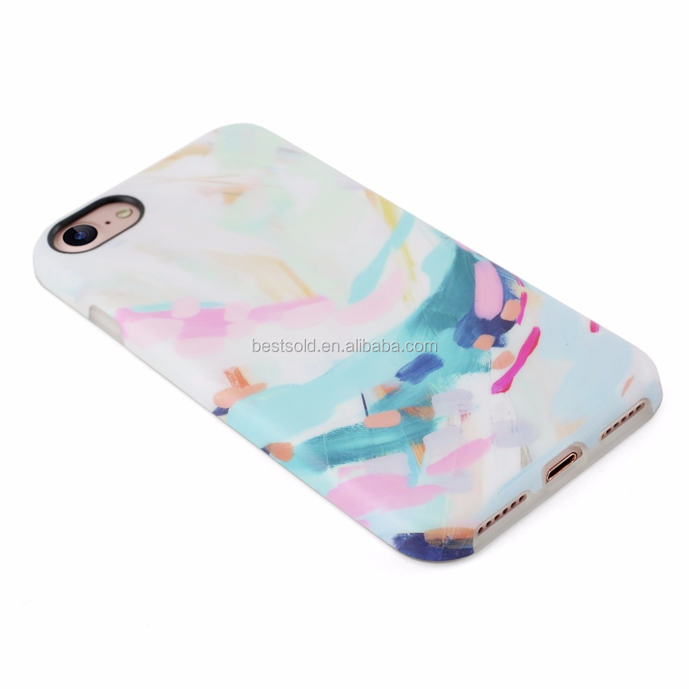 Mobile phone accessories fashion phone case custom for iphone 7 case cover IMD sublimation phone case