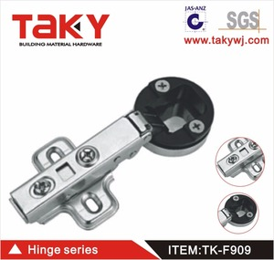 TK-F909 Kitchen 26mm Cup Soft Close Cabinet Cupboard Glass Door Hinge Damper Buffer