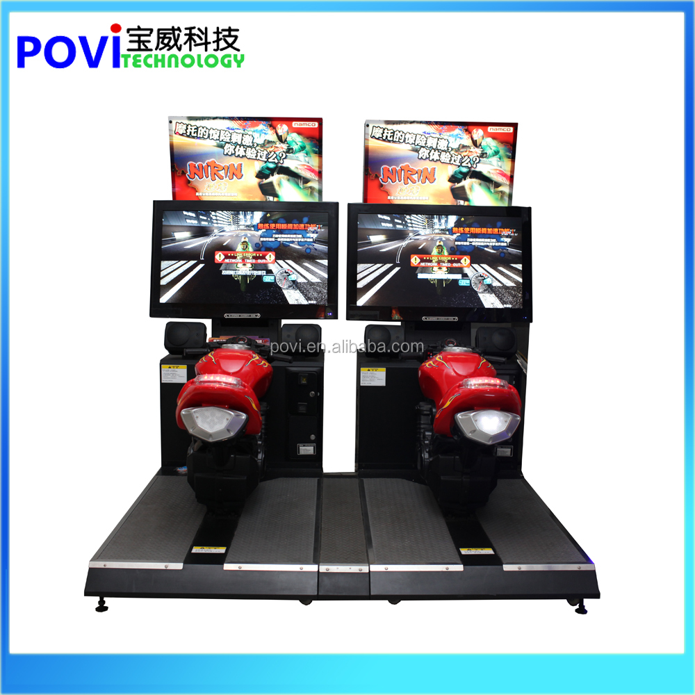 Namco Coin Operated Nirin 4D Moto Bike Racing Game Machine