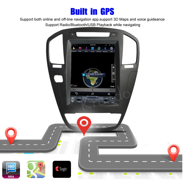 car navigation system for buick Regal